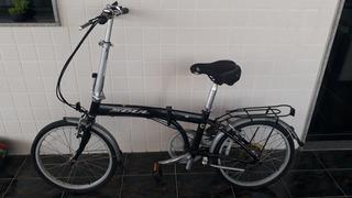 Bicicleta Dobrável Soul D70 Com Capa