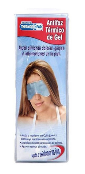 Antifaz Termico De Gel Para Estres, Ojeras, Moretones