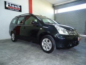 Nissan Grand Livina 1.8 Sl 7 Lug. Aut. 2010 Couro (top De Li