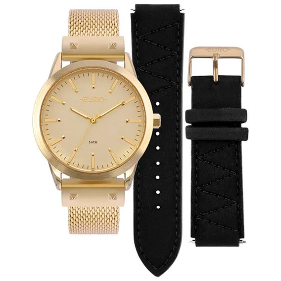 Relógio Euro Feminino Neoprene Eu2035yok/4d