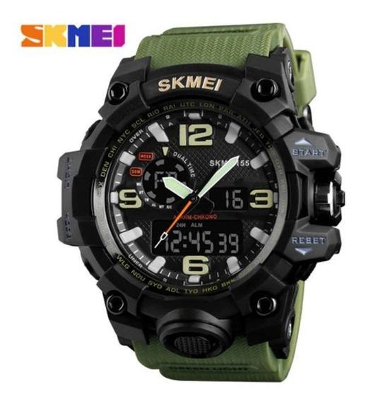 Relógio Skmei Original Modelo 1155 Dourado Prova D