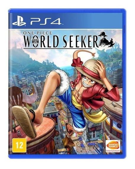 One Piece: World Seeker Ps4 Mídia Física Nacional Lacrado Rj