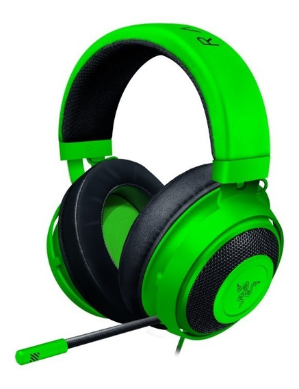 Headset Gamer Razer Kraken Green Multi Platform