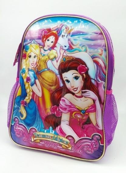 Mochila Escolar Infantil Menina Princesas Mágicas Clio