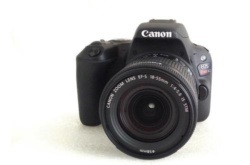 Canon Eos Rebel Sl2 18-55mm Is Stm Kit Dslr Cor Preto Lentes