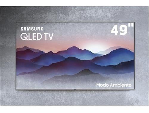 Tv Qled Samsung 49 49q6fn Uhd 4k Exposição