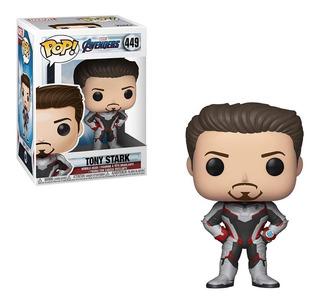 Funko Pop Avengers Endgame Tony Stark 449 Original Nuevo