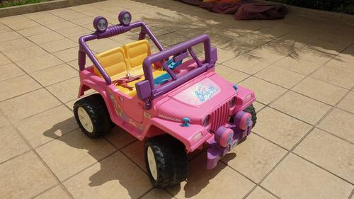 Carro Barbie Para Niña