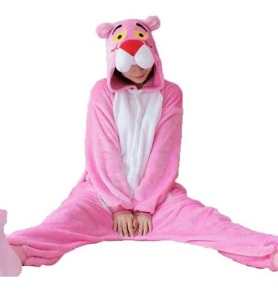 Mameluco Pijama Pantera Rosa Adulto Envío Gratis