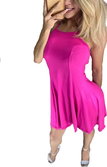 Vestidos Casuales Dama Tirantes Corte A Sexy