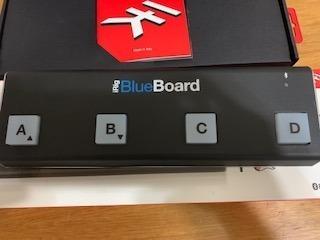 Irig Blueboard - Pedaleira Controladora Bluetooth