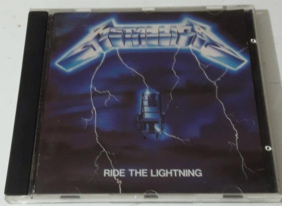 Metallica - Ride The Lightning ( Cd France ) Vertigo