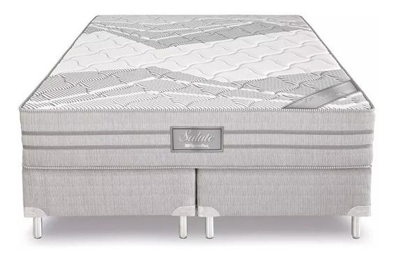 Cama Box Casal King Salute Miracoil Reconflex (198x203)