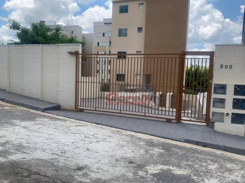 Apartamento À Venda, 66 M² Por R$ 235.000,00 - Vila Nova Socorro - Mogi Das Cruzes/sp - Ap0424