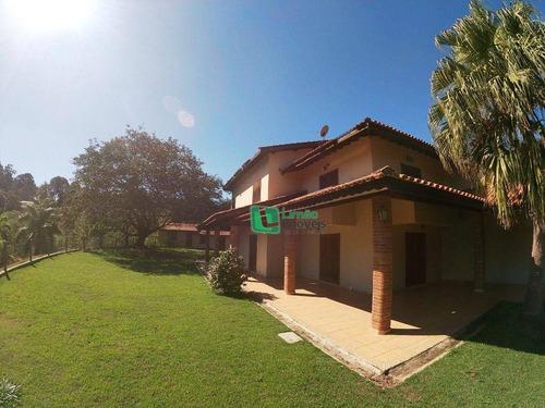 Imagem 1 de 30 de Chácara Com 5 Dormitórios À Venda, 11170 M² Por R$ 2.800.000,00 - Bosque Dos Pinheirinhos - Jundiaí/sp - Ch0002
