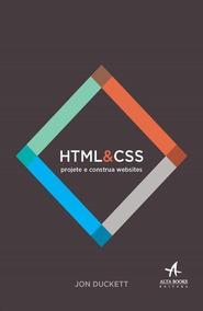 Html E Css - Projete E Construa Websites