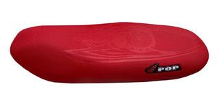Capa De Banco Pop 100 Pop 110 110i Honda Vermelha 21528