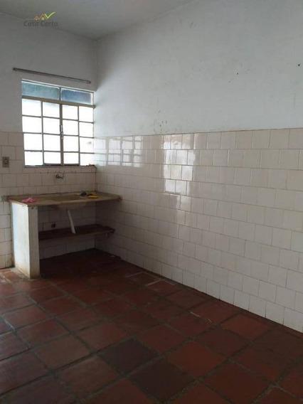 Casa Com 2 Dormitórios Para Alugar Por R$ 500/mês - Ca1246