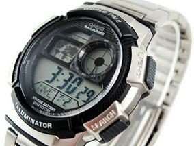Relógio Casio World Time Aço Modelo Af1000