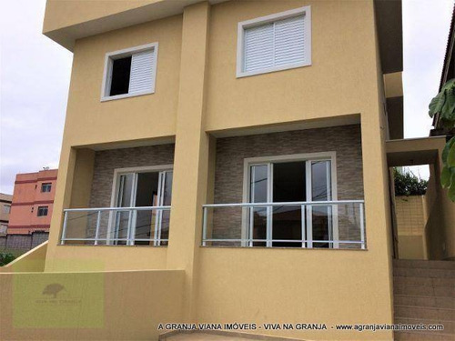 Casa À Venda, 124 M² Por R$ 525.000,00 - Condomínio Villa D Este - Cotia/sp - Ca1443