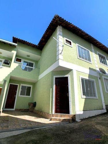 Imagem 1 de 17 de Casa Com 2 Dormitórios À Venda, 76 M² Por R$ 210.000,00 - Jardim Primavera - Duque De Caxias/rj - Ca0429
