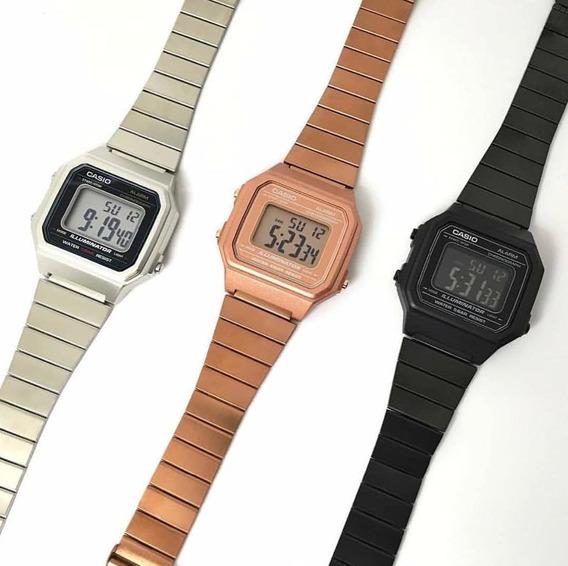 Relógio Vintage Retrô Modelo B650 + A158-wa