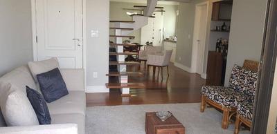 Cobertura Com 3 Dormitórios À Venda, 230 M² Por R$ 1.300.000 - Botafogo - Campinas/sp - Co0126