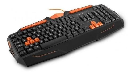 Pc Ac Teclado Gamer Usb Multimidia Multilaser Tc211