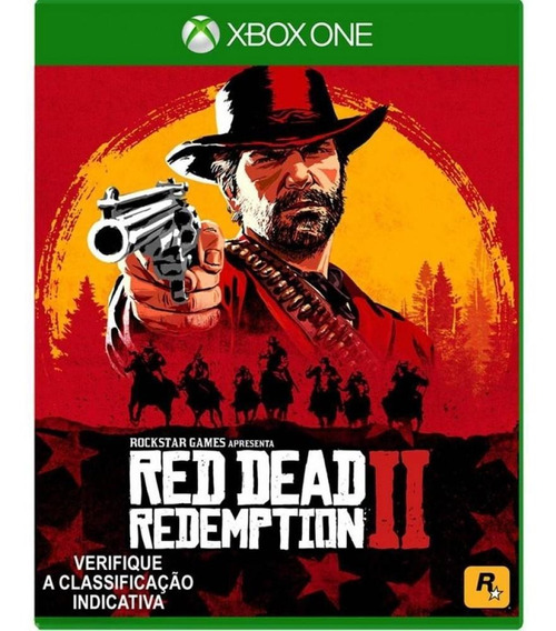 Red Dead Redemption 2 Xbox One Mídia Física C/ Mapa