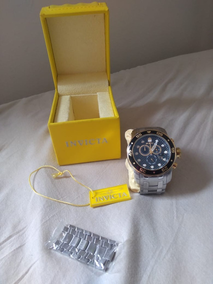 Relógio Invicta Pro Diver Master Of The Oceans 18k