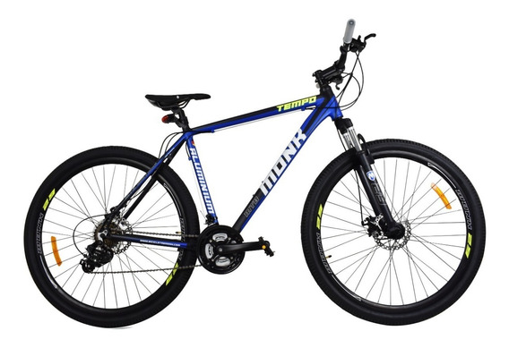 Bicicleta Rodada 29 Monk Tempo Alumin Susp/d Frens/disc 21v