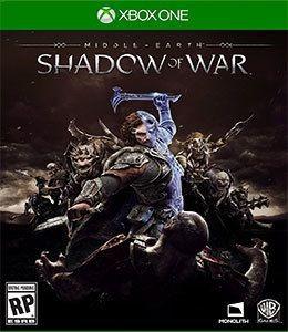 Shadow Of War Sombras Da Guerra Xbox One Original Usado