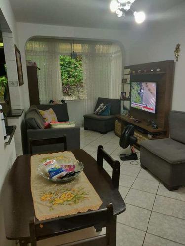 Imagem 1 de 12 de Apartamento Com 1 Dorm, Centro, São Vicente - R$ 185 Mil, Cod: 995 - V995