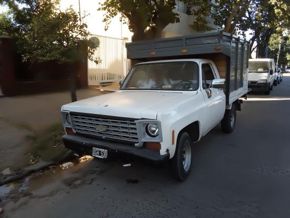 Chevrolet C10 Con Gnc Titular Al Dia. Acepto Permuta