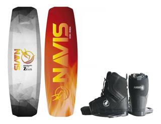 Wakeboard Navis Prancha Zeus + Botas