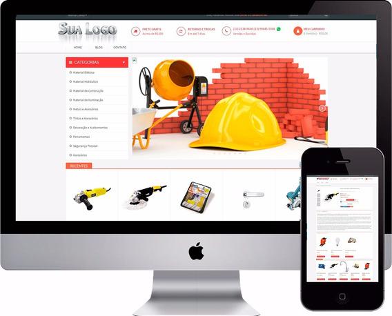 Loja Virtual Para Materiais De Construção E Acessórios