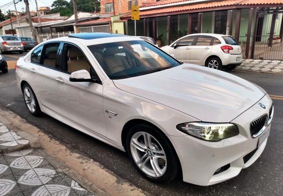 Bmw 528i M Sport 2015 - Branco Com Interior Creme