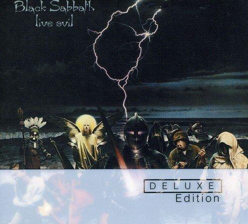 Black Sabbath Cd Duplo Live Evil Deluxe Ed. Lacrado Import