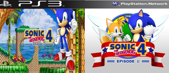 Sonic The Hedgehog 4 Episodes 1 + Episodio 2 Psn Ps3