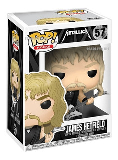 Funko Pop James Hetfield 57 Metallica Original Scarlet Kids