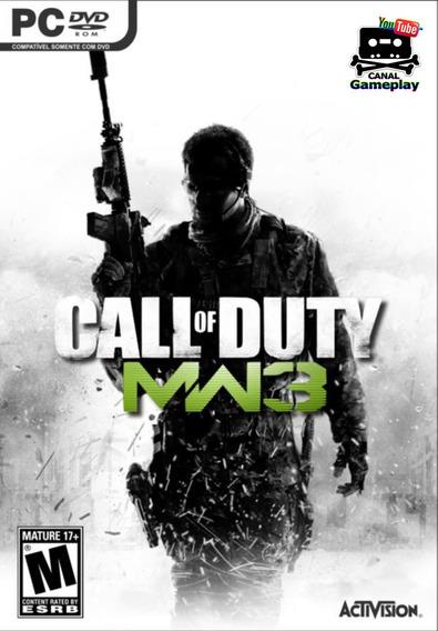 Call Of Duty Modern Warfare 3 Pc - 100% Original (steam Key)