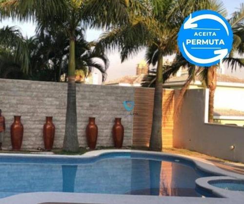 Casa À Venda, 700 M² Por R$ 6.800.000,00 - 18 Do Forte - Santana De Parnaíba/sp - Ca1384