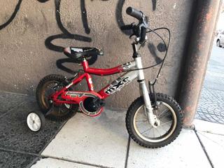 Bicicleta Usada Rodado 12 Raleigh