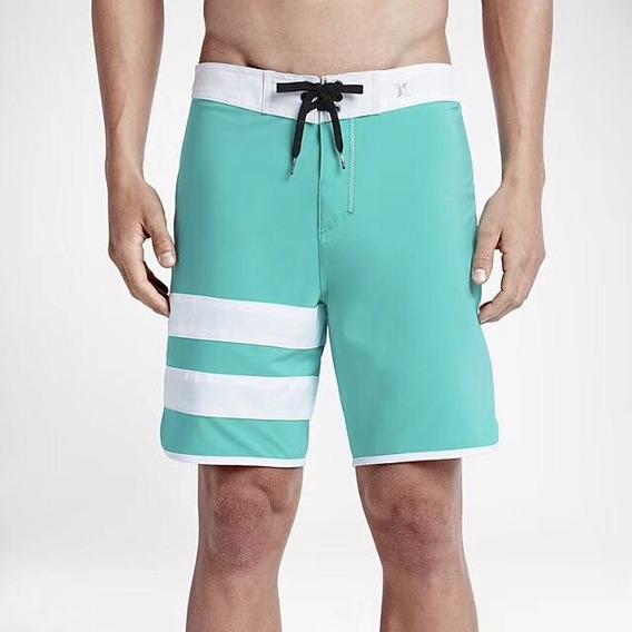 Bermuda Shorts Hurley Phantom Elastano Surf Pronta Entrega