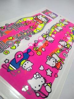Adesivo Bicicleta Infantil Hello Kitty Frete Grátis