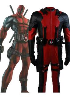 Cosplay Deadpool Hq Quadrinhos Fantasia