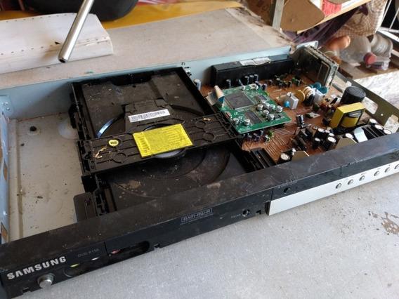 Placa Componentes Dvd R150 Samsung Carcaça Para Peças