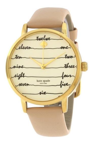 Reloj Kate Spade Live Colorfully Acero Piel Mujer Ksw1059