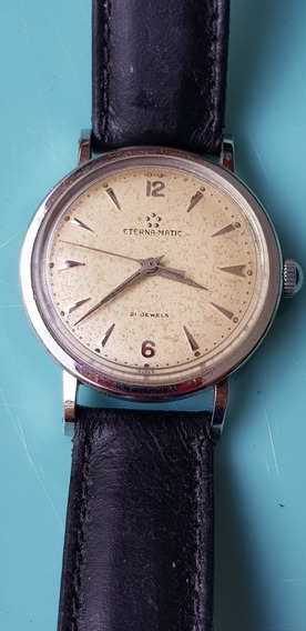 Relógio Eterna-matic Aço Inoxidável