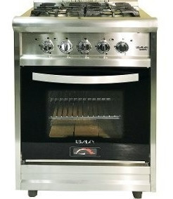 Cocina Industrial 4 Hornallas Acero 60 Irina 3220 R.f.usman